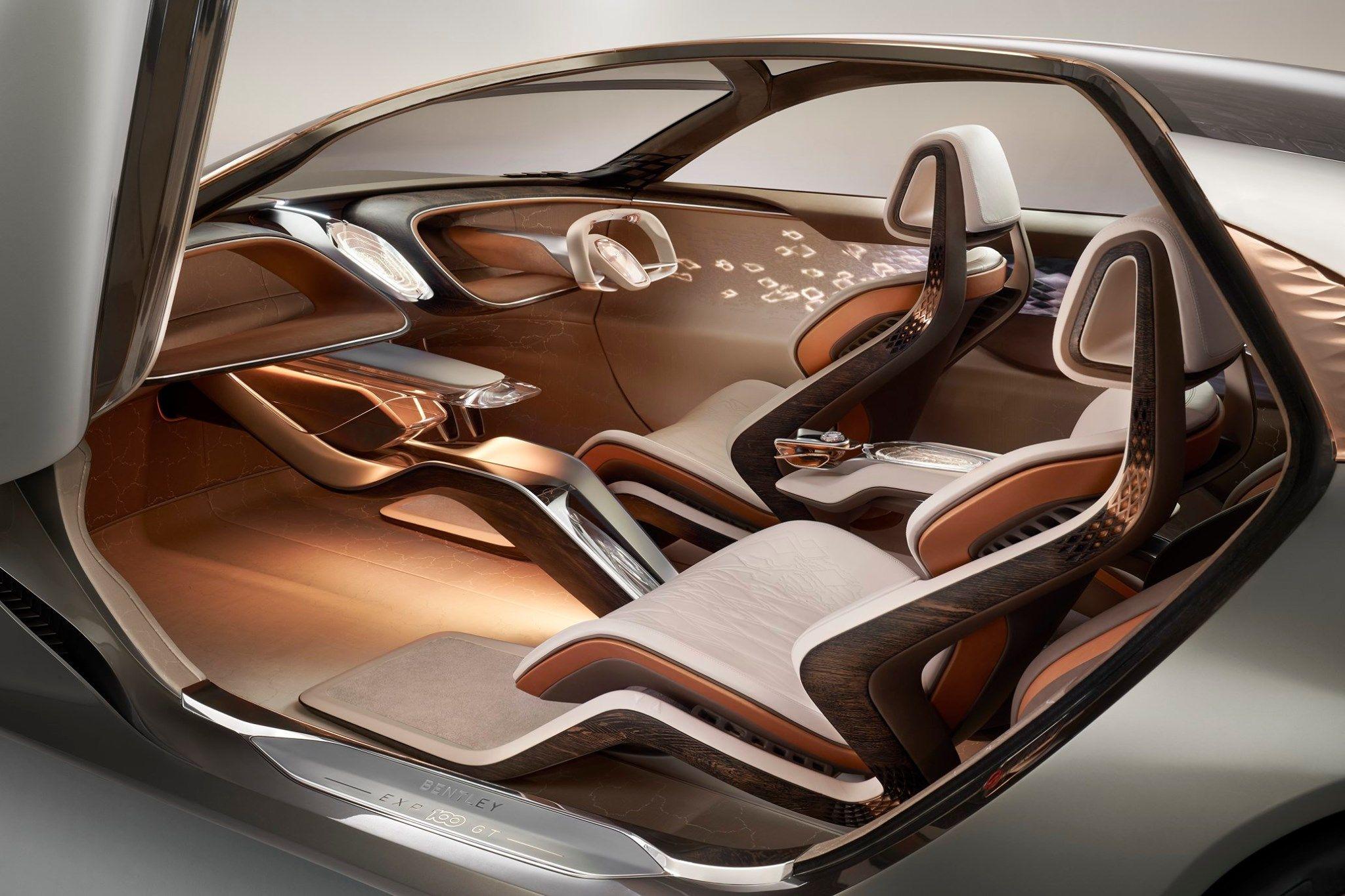 Exp100gt Intérieurs De Voiture Bentley Accessoire Interieur Voiture