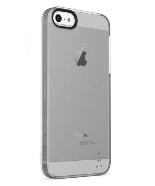 iPhone 5 5S Belkin Shield Sheer Matte Case Transparant