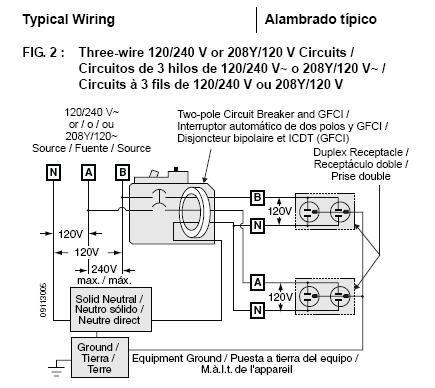 220 Volt GFCI Wiring Diagram ANDALUCIA ORGANICS ORGANIC FARM