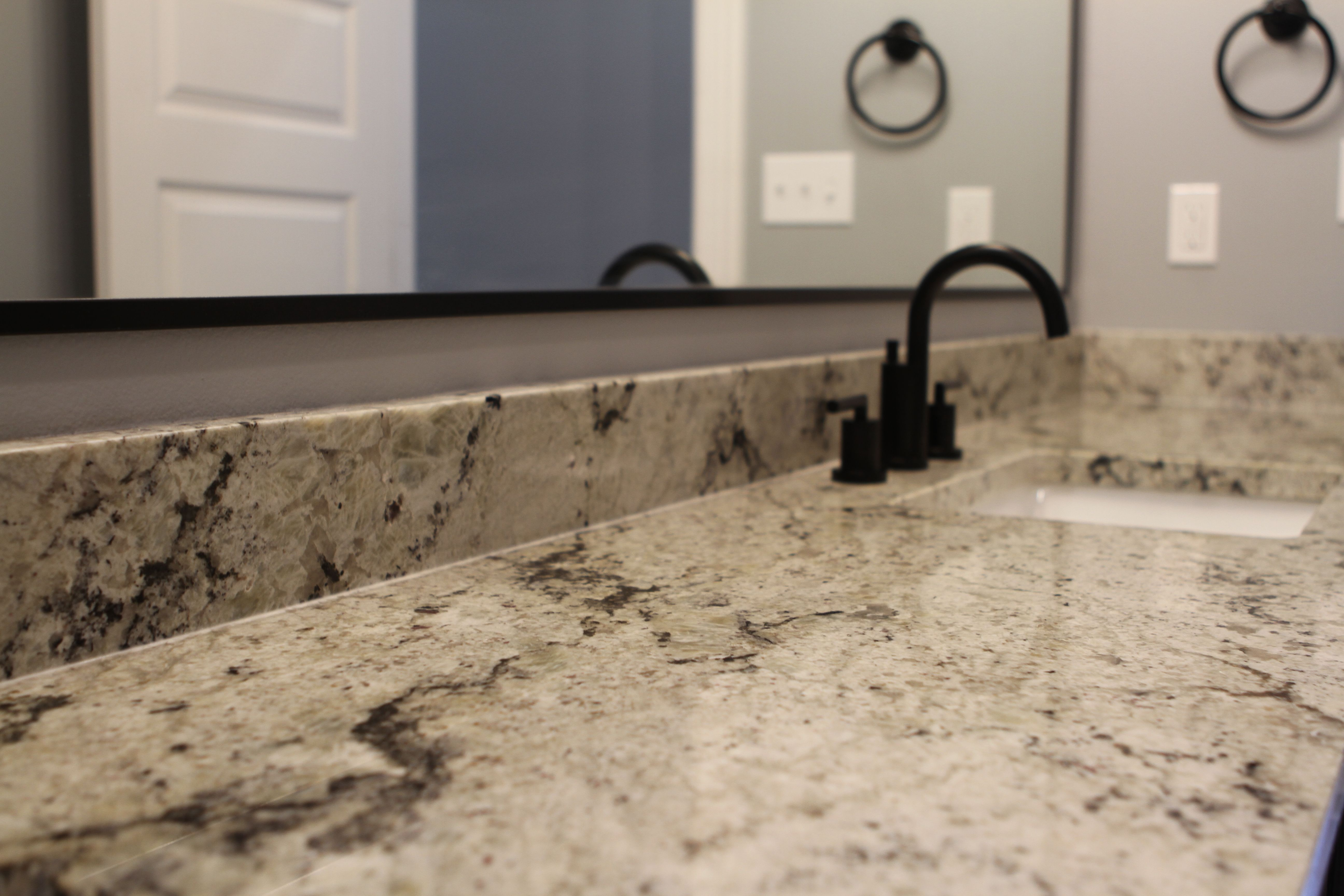 Another Day Another White Lava Appreciation Post Sollevare Homes Unitedtileco Classicstonefab Count In 2020 Countertops Porcelain Sink New Construction