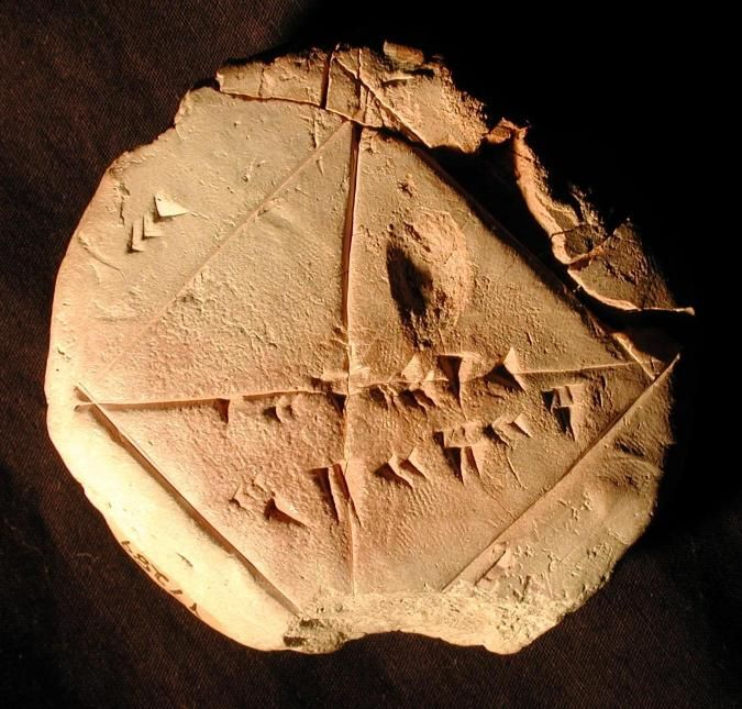 The Babylonians knew an amazingly good approximation to the square root of 2 back around 1700 BC. But did they know it was just an approximation?