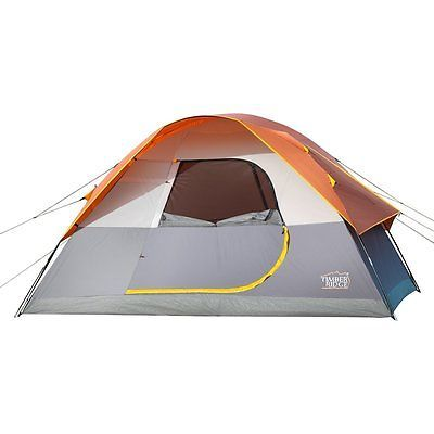 Timber Ridge Family C&ing Dome Tent with Carry Bag D-Shape Door 3 Seasons  sc 1 st  Pinterest : timber ridge tent - memphite.com