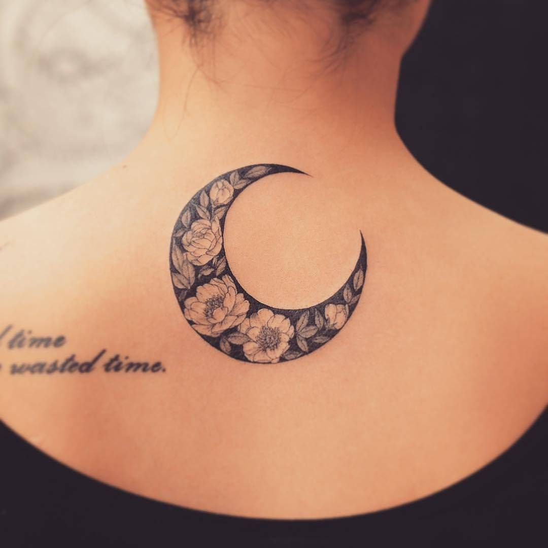 Luna De Flores Tattos Tattoos Flower Tattoos Y Back Tattoos