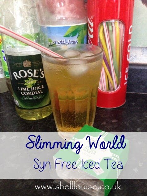 Iced Tea - A Slimming World Version that is Syn Free