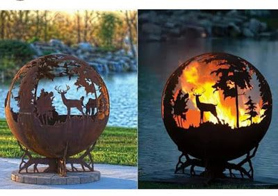 The Fire Pit Gallery and SecureTurf can create a great fire pti design for you...
