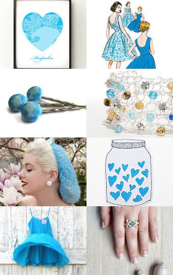 She Fell in Love in Acapulco.... by AmyJo on Etsy--Pinned with TreasuryPin.com