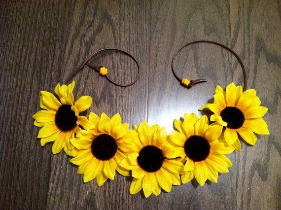 best 25 sunflower headband ideas on pinterest sunflower