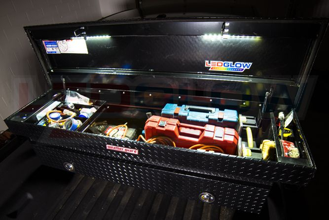 2pc truck tool box led lighting kit