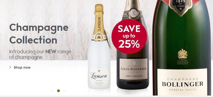 Choose from over 1,200 wines, champagnes & spirits at Waitrose Cellar  #champagnes #drink deals