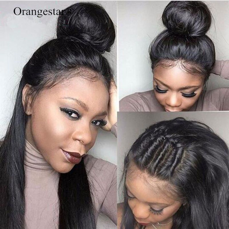 Brazilian Virgin Hair Ear To Ear Straight 360 Lace Frontal Closure