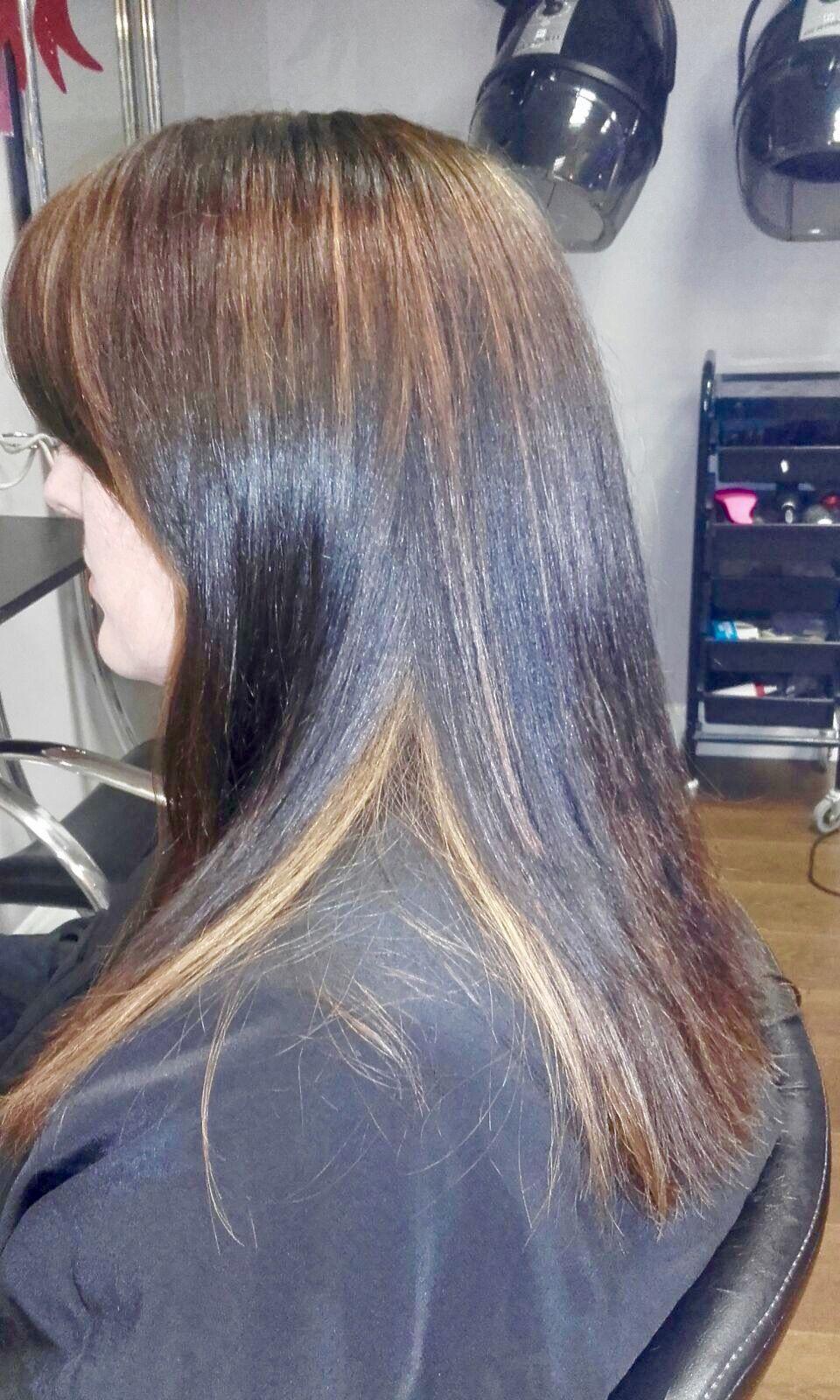 Hidden Highlights Ghs Gorgeous Hair Salon Pinterest Salons