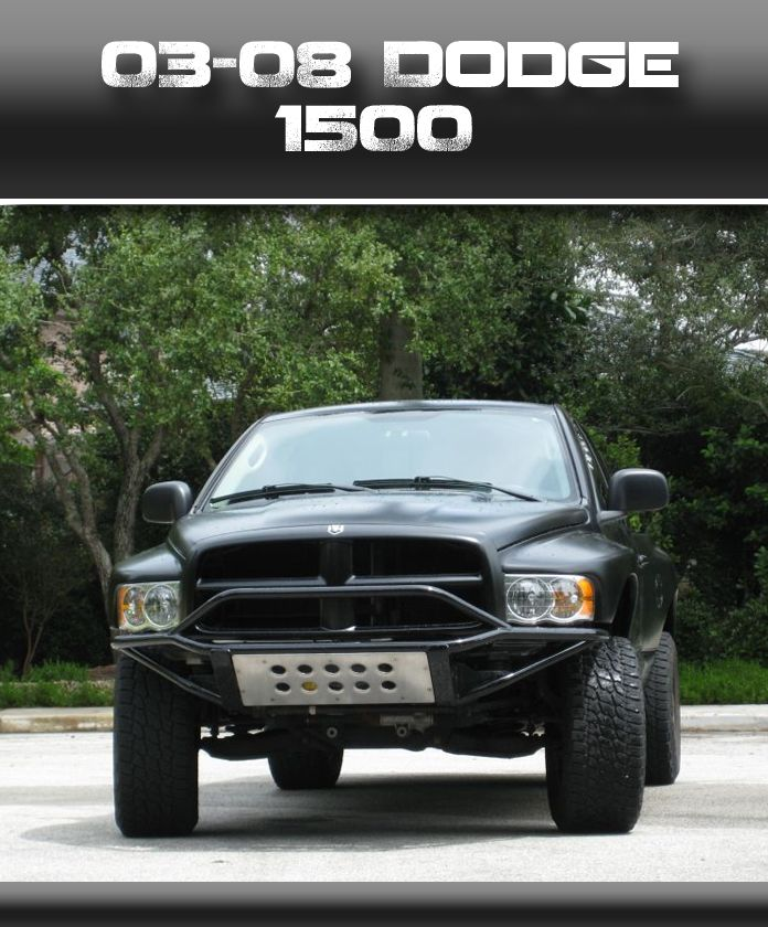 2003 2008 Dodge 1500 Front Bumper With Images Dodge Dodge