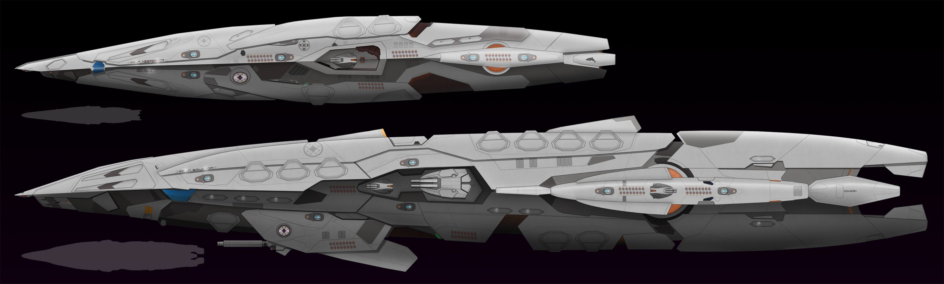 WIP Cruiser for the ROG by Mallacore on DeviantArt