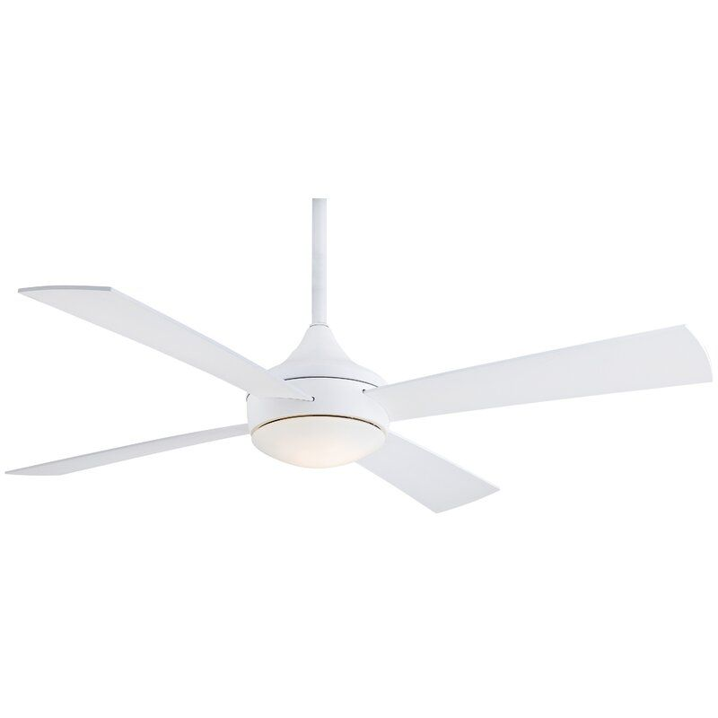 Minka Aire 52 Aluma Wet 4 Blade Standard Ceiling Fan With Remote Control And Light Kit Included In 2020 Ceiling Fan Minka Aire Ceiling Fan Ceiling Fan With Remote Minka aire ceiling fans reviews