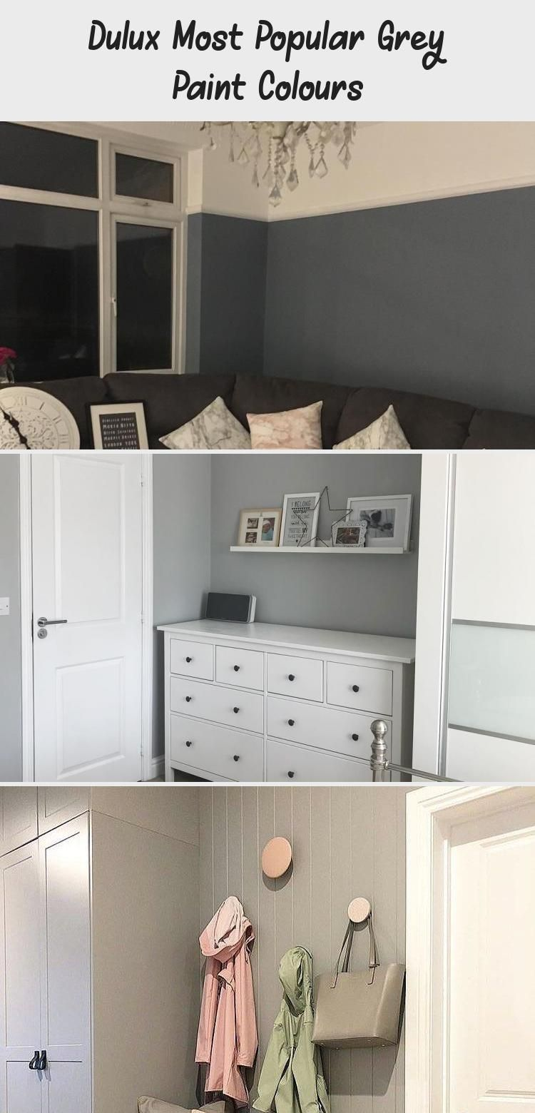 Dulux Most Popular Grey Paint Colours In 2020 Popular Grey Paint Colors Grey Paint Light Grey Paint Colors