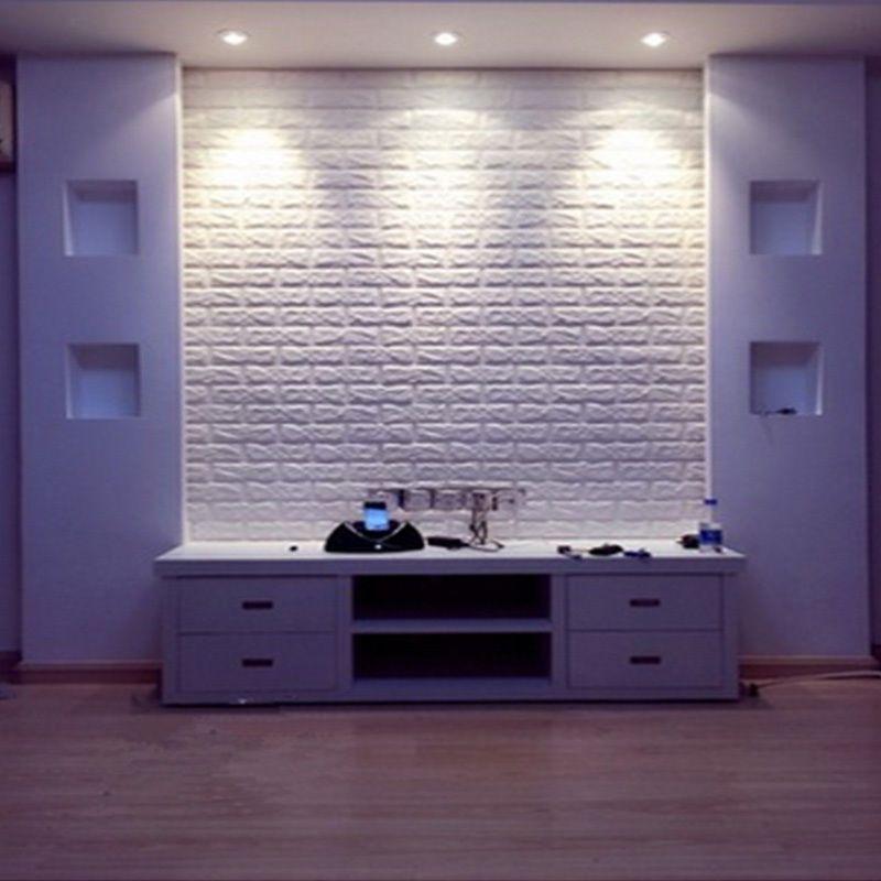 3D Brick Pattern Wallpaper Bedroom Living Room Modern Wall - logiciel de creation de meuble d gratuit