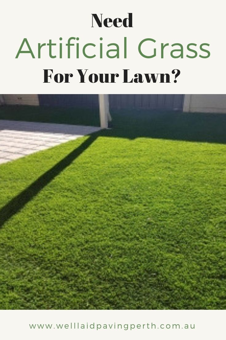 We offer both paving and artificiallawn services so your