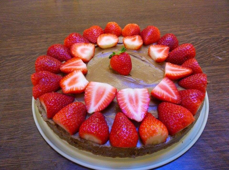 HandsoffmyFOOD!: SKINNY SINNER: Chocolate cheesecake #totallyvegan #verbluffendsimpel