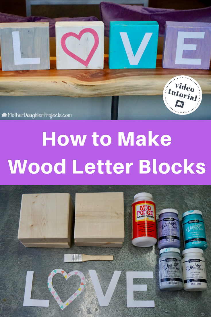 Diy Wood Blocks For Home Decor