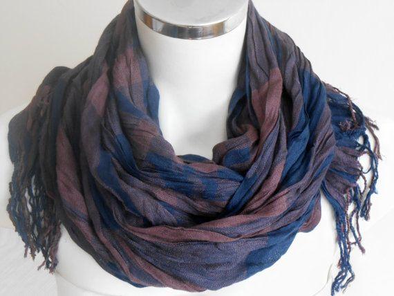 Men's scarves Striped men scarf For men scarves by Nazcolleccolors