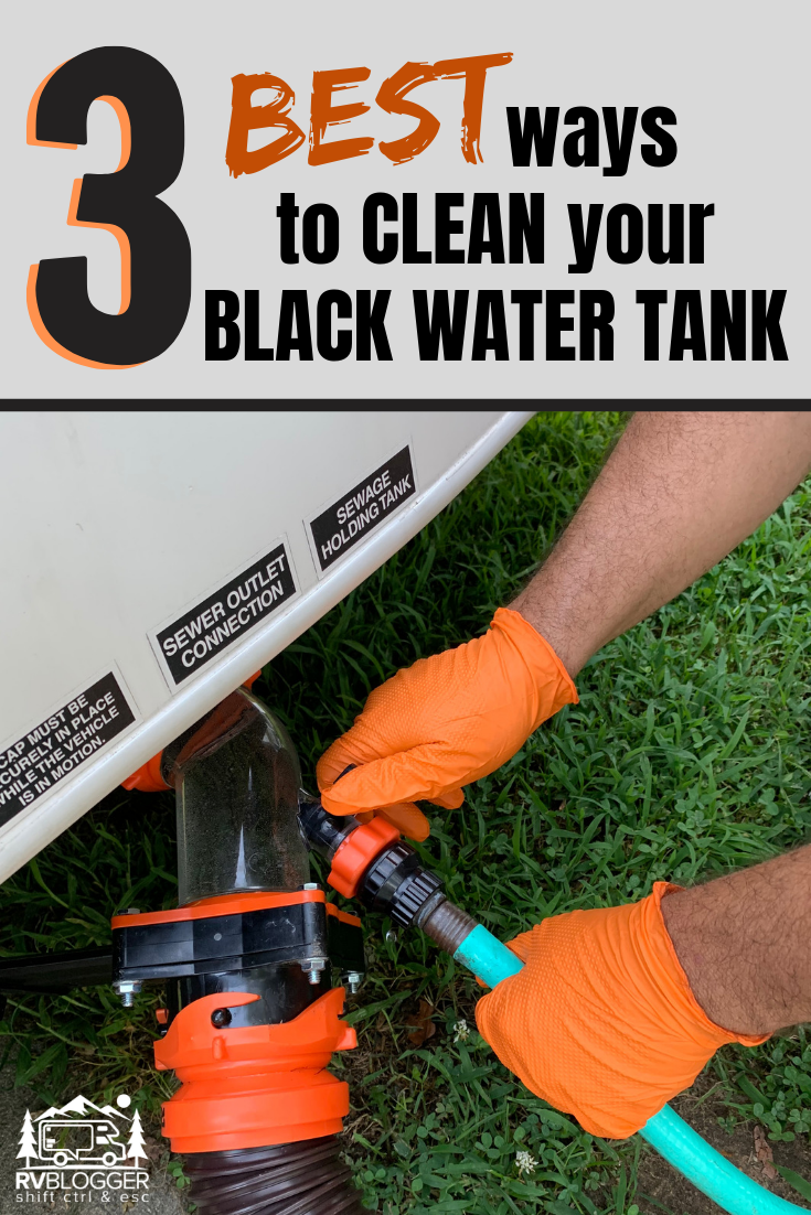 Rv Black Water Tank And Sensor Cleaning Tips Rvblogger Travel Trailer Camping Camper Maintenance Rv Camping Tips