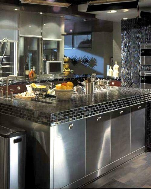 Mr. and Mrs. Smith movie house kitchen set