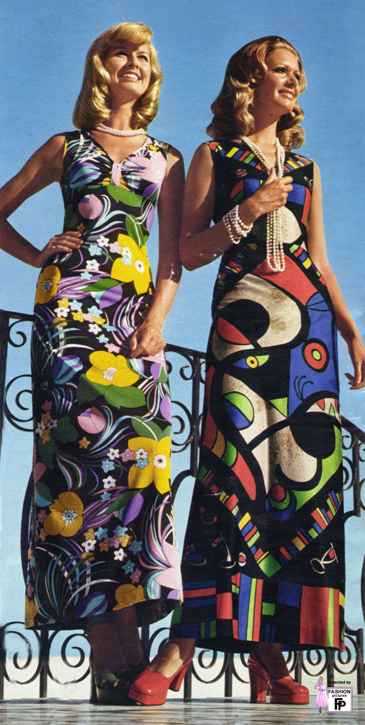 Maxi dress fashion history