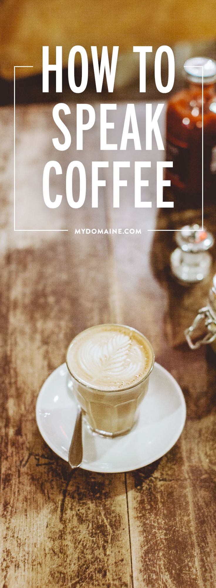 All the Coffee Terminology You Need to Know Coffee