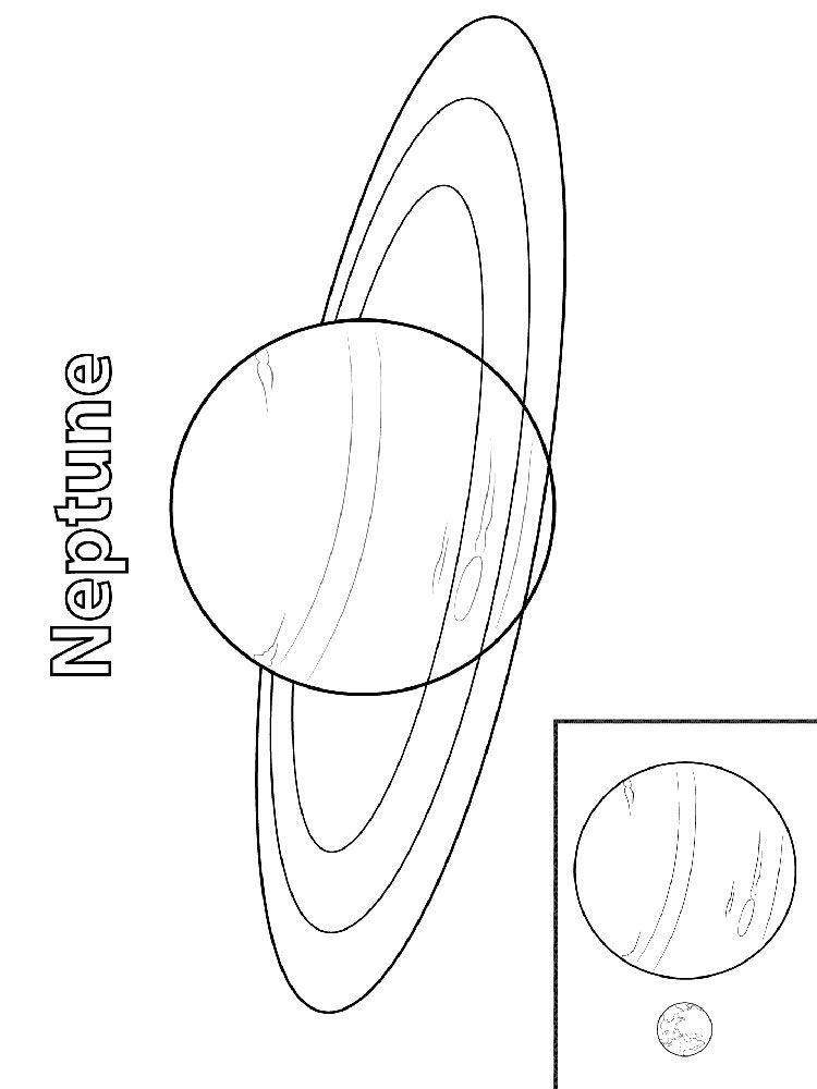 Neptune planet coloring pages | okuloncesi | Pinterest | Preschool ...