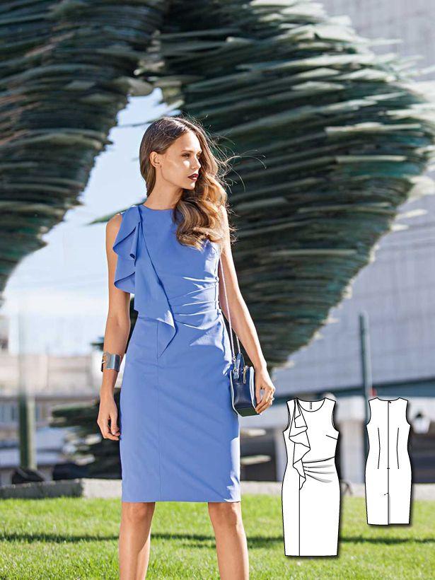 Blue Crush: 11 New Women\'s Sewing Patterns | Nähen, Schnittmuster ...