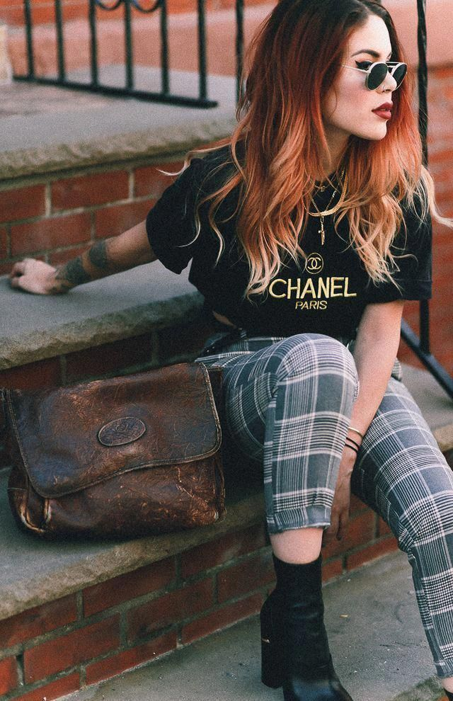 VINTAGE CHANEL (LEHAPPY) #WomensFashionEdgy - #chanel #lehappy #vintage #womensfashionedgy -