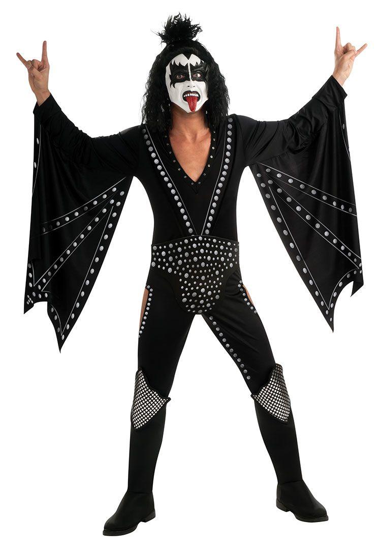 Deluxe Gene Simmons KISS The Demon Costume - KISS Costumes | Gene ...