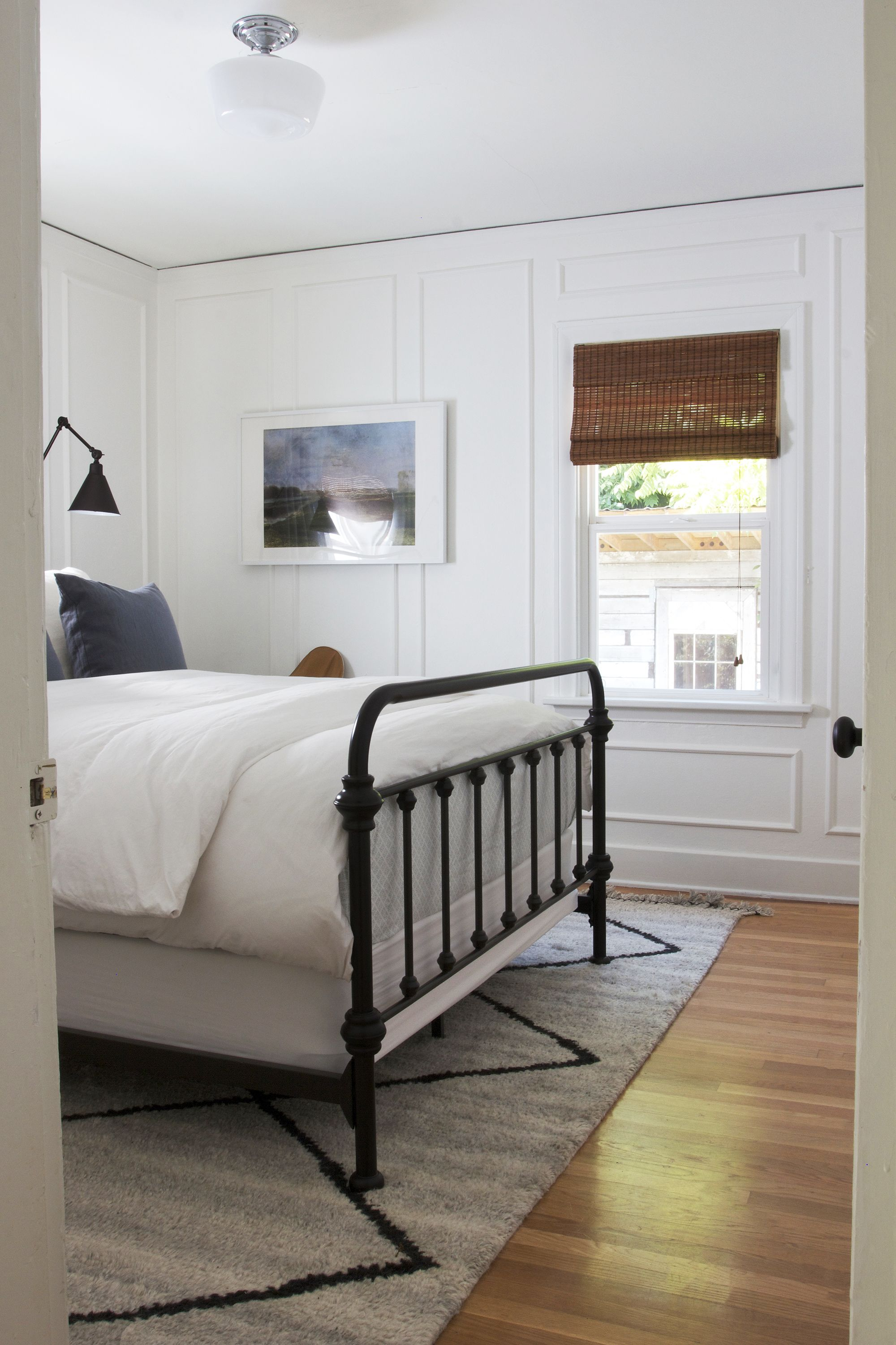 DIY // How to Install Panel Moulding Small master