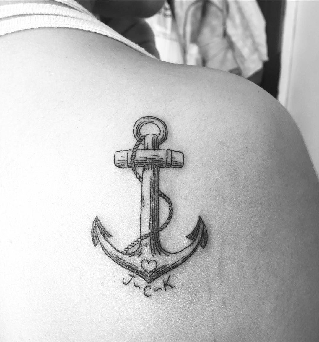 Anclas De Tatuajes Para Mujer pin en geométricos   tatuajes