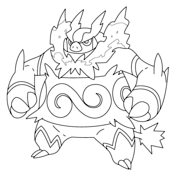 Emboar Coloring Page Pokemon Coloring Pages Pokemon Coloring Coloring Pages