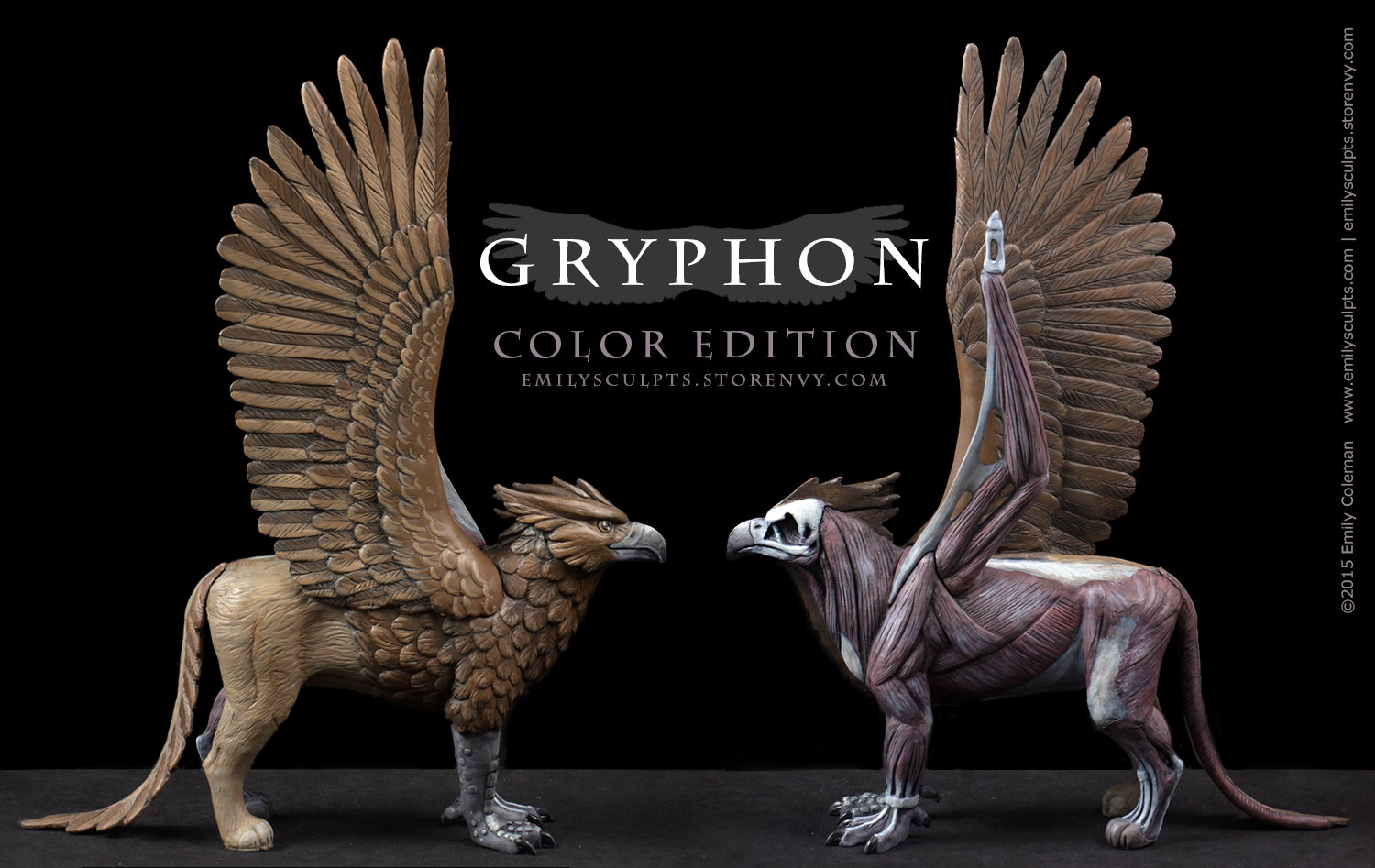 Gryphon : Fantasy Anatomy Model · emilySculpts · Online Store ...