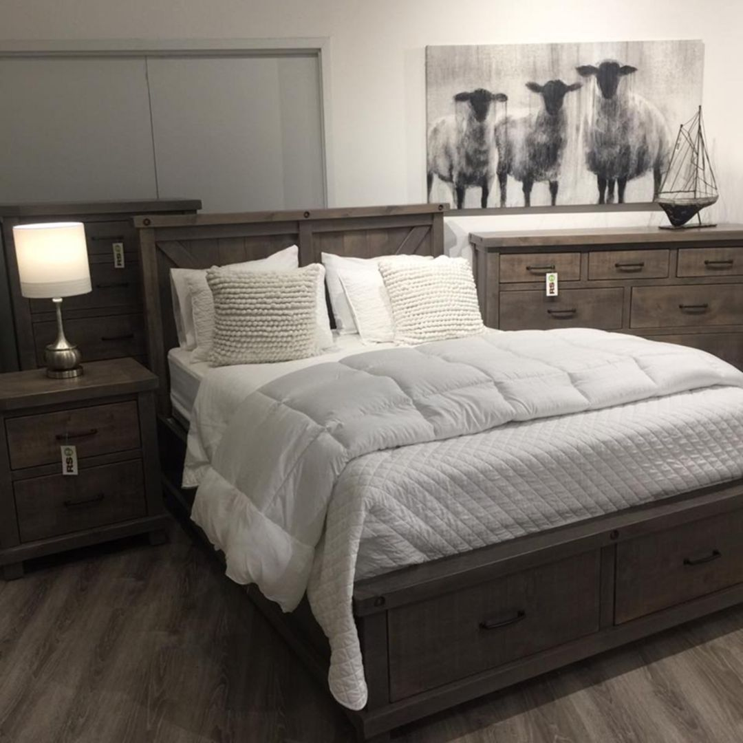 Interesting 25+ Modern Rustic Bedroom Decor Ideas For Your ...