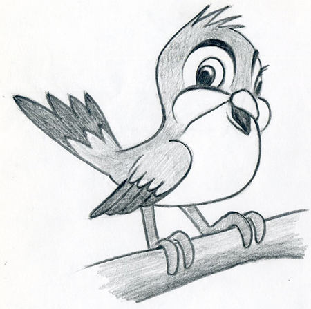 Dibujos De Pajaros Para Ninos Dibujos Faciles De Hacer En 2020 Dibujos De Pajaro Dibujos Lapices De Dibujo