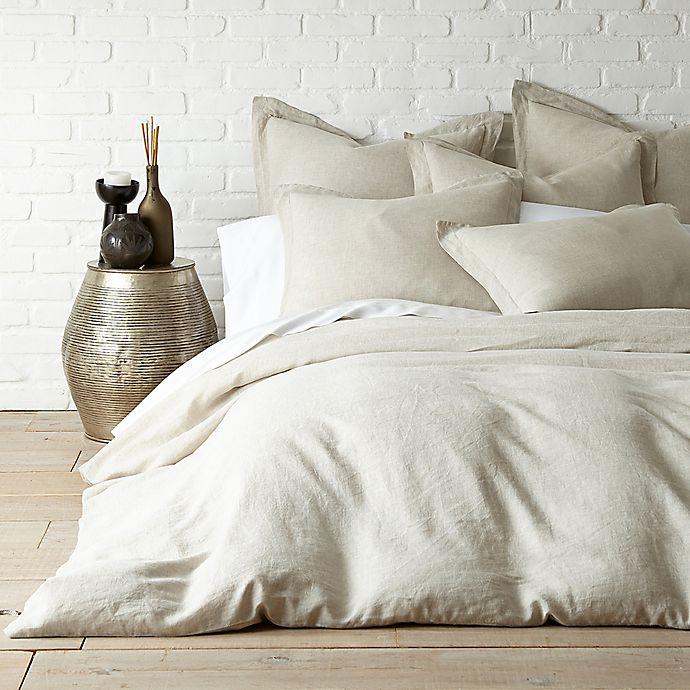 Levtex Home Washed Linen Duvet Cover In Coal Bed Bath Beyond Linen Duvet Covers Washed Linen Duvet Cover Linen Duvet