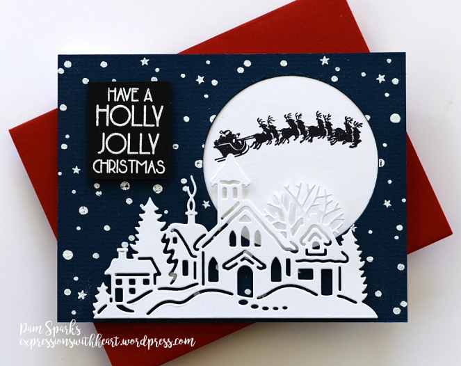 Two Winter Cards For Fun And Check Out