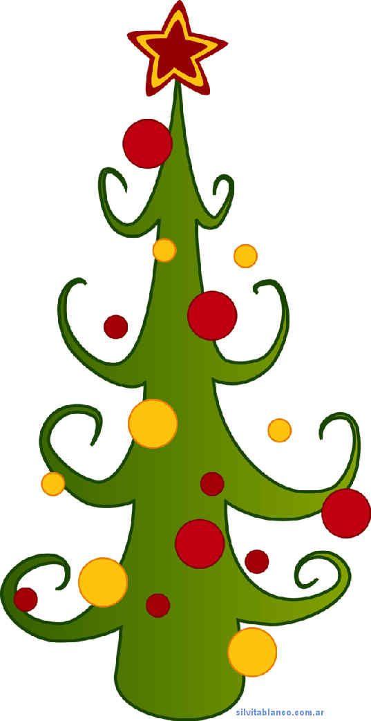 Árboles de Navidad tamaño grande para imprimir | Navidad | Pinterest ...