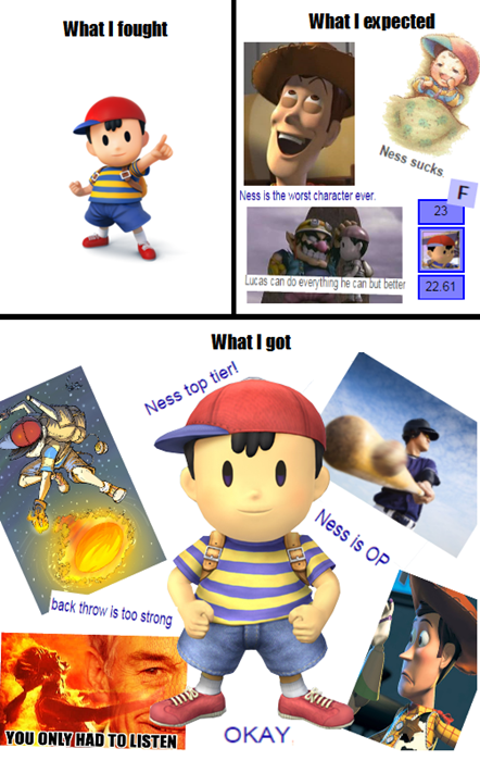 What I Expected Super Smash Bros With Images Smash Bros Funny