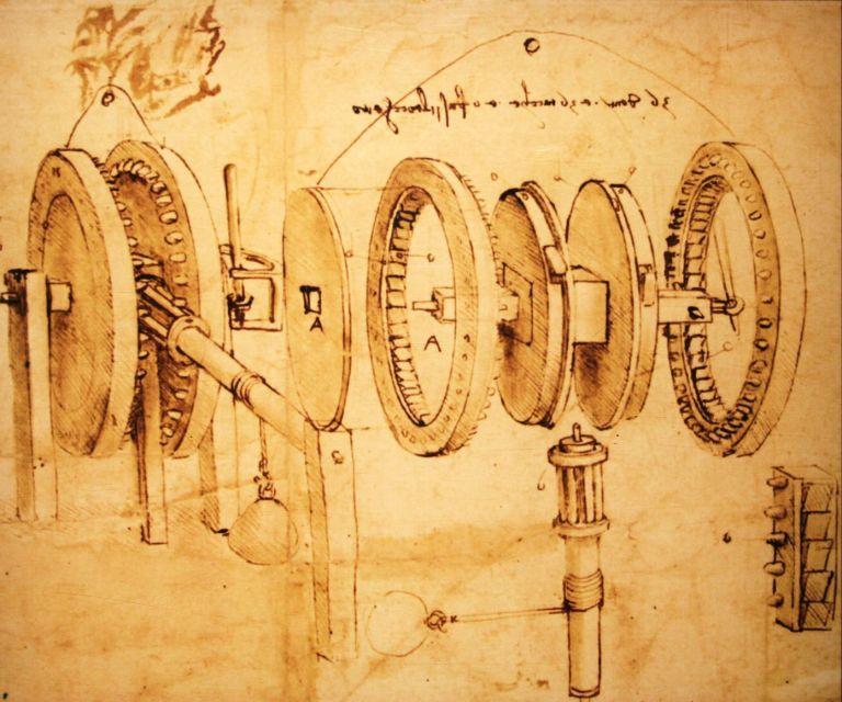 Fine Art Print//cartel Vitruvian Man Leonardo da Vinci