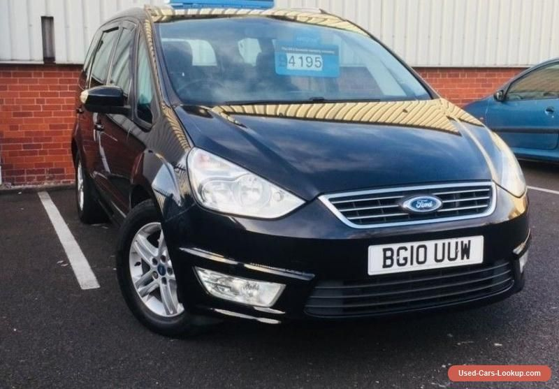 Car For Sale 2010 Ford Galaxy 2 0 Tdci Zetec