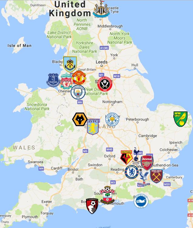 Fußballvereine London Premier League