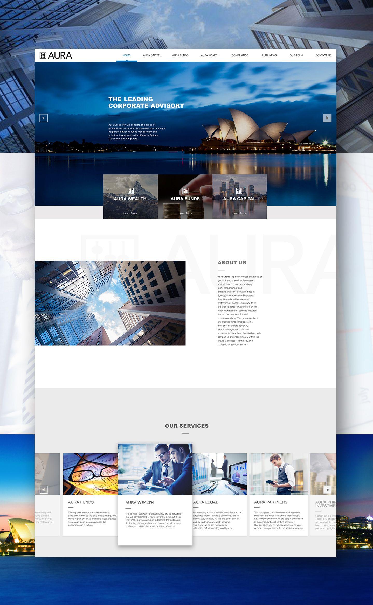 Aura Yes Web Design Studio L Web Design Bangkok Thailand