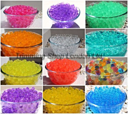 billes d 39 eau transparente gel perles pour plantes ou d coration sachet 10g decoration