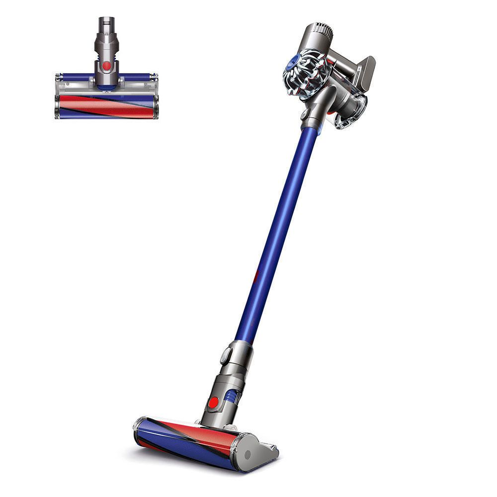 It Has 75 More Brush Bar Power Than The Dyson V6 Cord Free Vacuum Up To 20 Minutes Of Continuous Suction Trigger Rel Cordless Vacuum Dyson V6 Vacuum Cleaner