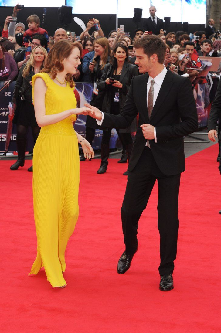 Pin for Later: Is This Emma and Andrew's Cutest Red Carpet Together Ever?