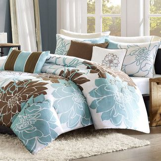 Pin on Blue and Brown Duvet Cover